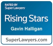 Super Lawyers Rising Star - Gavin Halligan